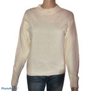 Sag Harbor ribbed knit sweater